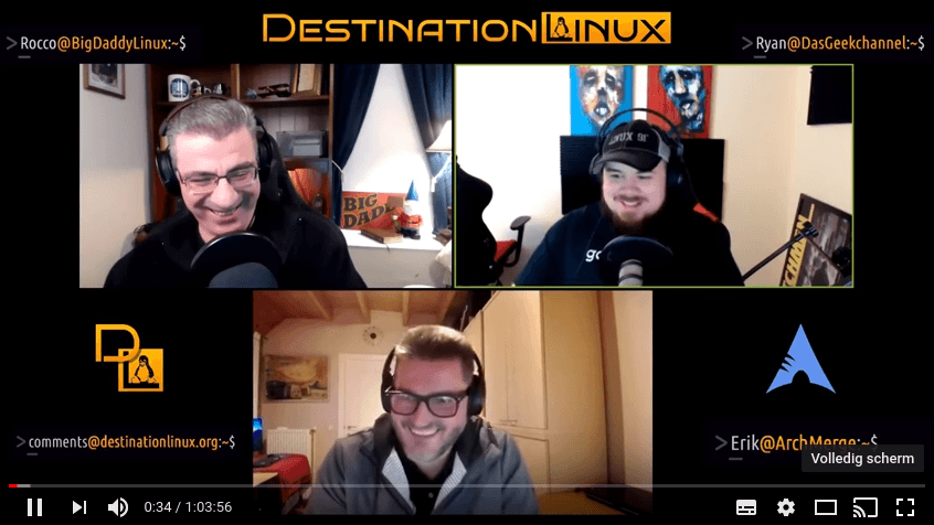 Interview from Destination Linux with Erik Dubois of ArchMerge