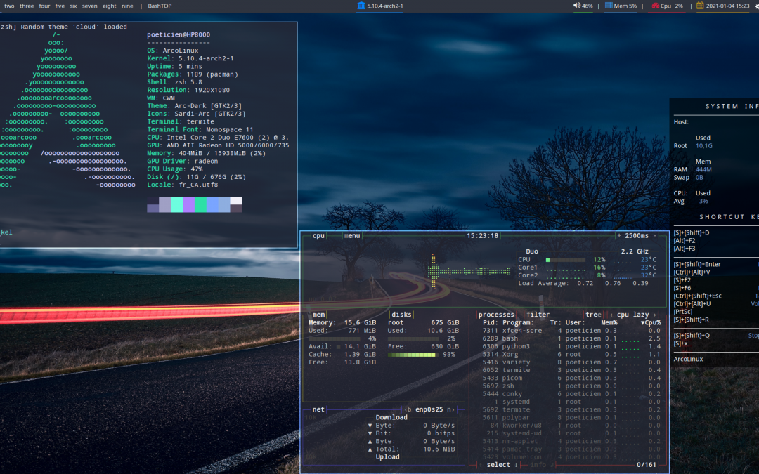 ArcoLinux -D -B 21.01